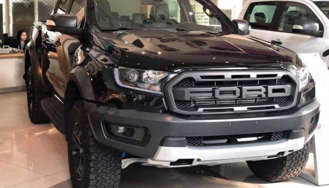 Bán Ford Ranger Raptor sản xuất năm 2018, màu đen, xe nhập