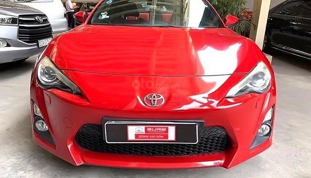 Bán xe Toyota FT 86 2012, màu đỏ, nhập khẩu, giá 980tr
