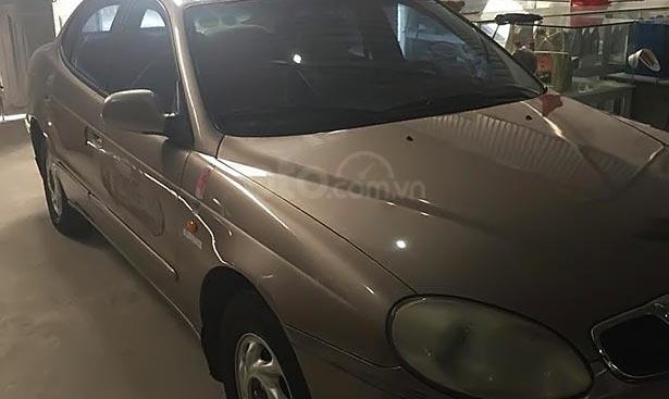 Bán Daewoo Leganza 2.0 AT năm 2000, màu xám, xe nhập số tự động, 145tr