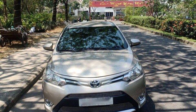 Cần bán xe Toyota Vios 1.5MT đời 2018, màu vàng cát bán 505 triệu