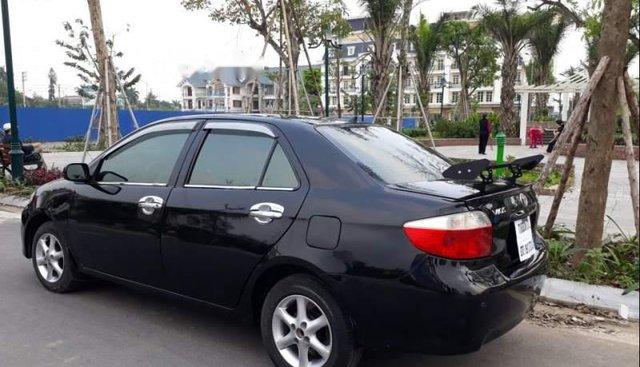 Bán ô tô Toyota Vios 2005, màu đen, la zăng được nâng lên của xe Atits