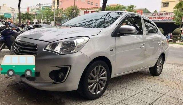 Cần bán gấp Mitsubishi Attrage đời 2014, màu bạc, nhập khẩu nguyên chiếc chính chủ, giá chỉ 315 triệu