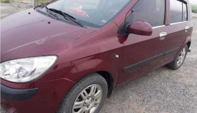 Bán xe Hyundai Click 1.4 AT năm 2008, màu đỏ, số tự động
