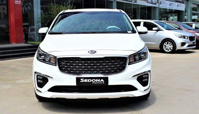 [Kia Bình Triệu] Kia Sedona 2.2L Luxury, Platinum D 2019, ưu đãi khủng, trả trước 20% nhận xe ngay, LH 0939701039