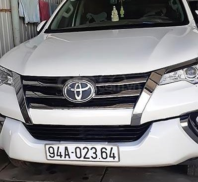 Xe cũ Toyota Fortuner năm 2017, màu trắng, nhập khẩu nguyên chiếc