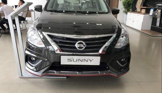 Bán ô tô Nissan Sunny sản xuất năm 2018, màu đen, 445 triệu