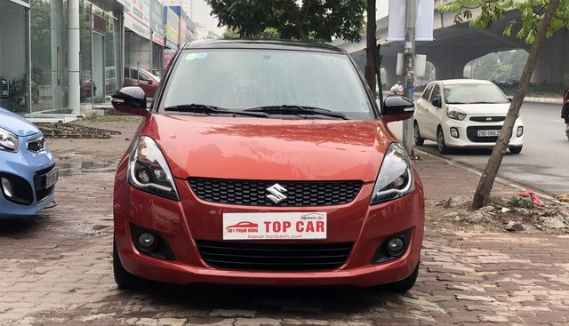 Bán Suzuki Swift 2016, đỏ cam, độ Full Led