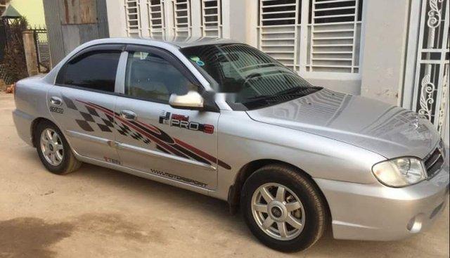Cần bán lại xe Kia Spectra đời 2004, màu bạc, giá 155tr
