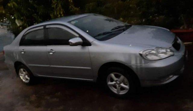 Cần bán lại xe Toyota Corolla altis 2002, màu bạc, giá chỉ 265 triệu