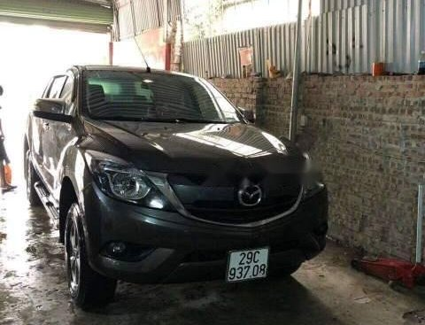 Cần bán xe Mazda BT 50 2017, màu xám, nhập khẩu