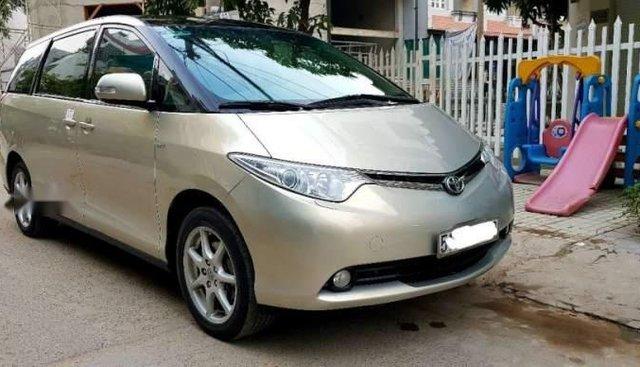 Bán ô tô Toyota Previa 2007, màu vàng, nhập khẩu còn mới, giá tốt