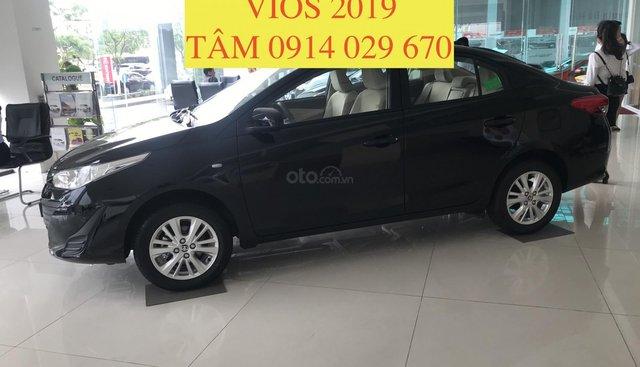Bán Toyota Vios 2019 giá rẻ nhất thị trường, giao xe ngay, hỗ trợ vay 80% - LH 0914 029 670 (Tâm)