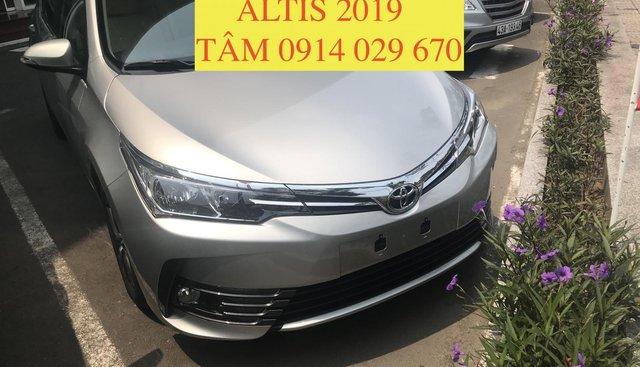 Bán Toyota Altis 2019 all new, chỉ cần 220tr nhận xe ngay - LH 0914 029 670 (Tâm)