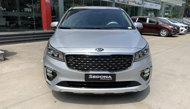 Kia Sedona 2019 mới 100%, tặng 1 năm bảo hiểm vật chất, có xe giao ngay - LH: 0909198695 (Kia Phú Mỹ Hưng)