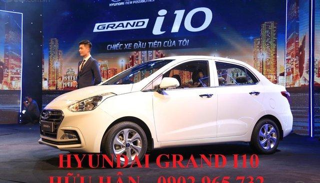 Hyundai Grand i10 đời 2019, màu trắng, xe giao ngay, LH: 0902.965.732 Hữu Hân