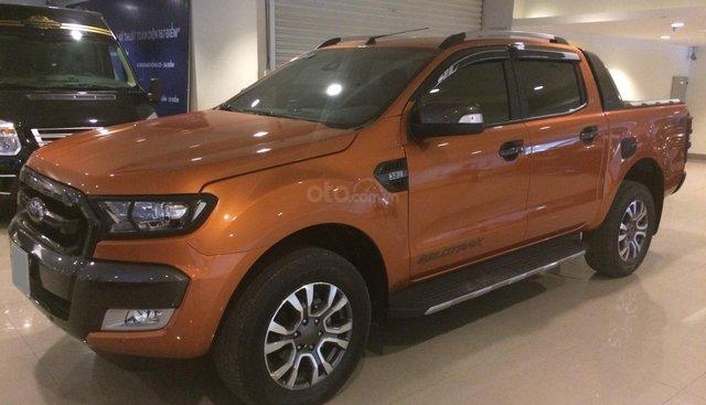 Bán xe Ford Ranger 3.2L Wildtrak 4x4 AT sản xuất 2016, màu nâu cam, nhập khẩu nguyên chiếc, giá chỉ 785 triệu