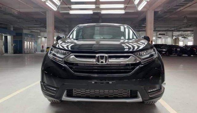 Bán xe Honda CR V năm 2019, màu đen, nhập khẩu