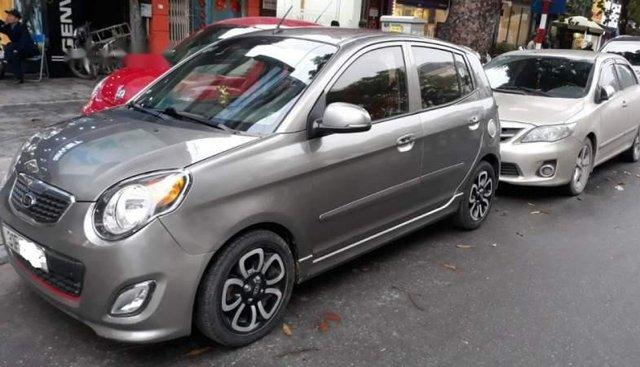 Bán Kia Morning AT sản xuất năm 2010, màu xám, xe nhập chính chủ