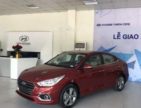 Bán ô tô Hyundai Accent 1.4AT năm sản xuất 2019, màu đỏ, 499tr