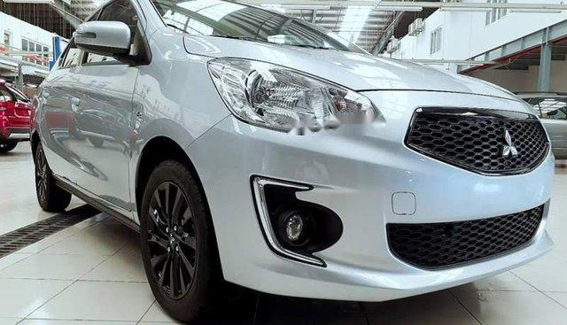 Bán Mitsubishi Attrage sản xuất 2019, màu bạc, nhập khẩu, giá chỉ 375.5 triệu