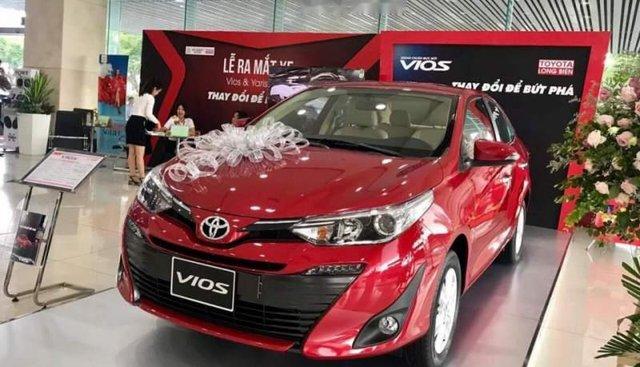 Bán xe Toyota Vios 1.5G sản xuất 2019, màu đỏ