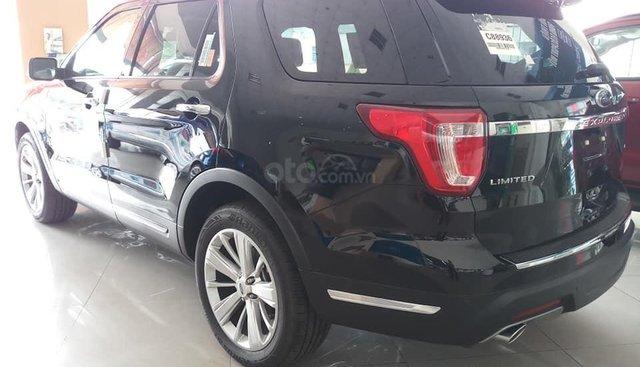 Bán ô tô Ford Explorer 2.3 Ecoboost năm sản xuất 2019, màu đen, nhập khẩu nguyên chiếc giá tốt, LH 0974286009