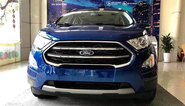 Bán ô tô Ford EcoSport Titanium đời 2019, đủ màu giao liền