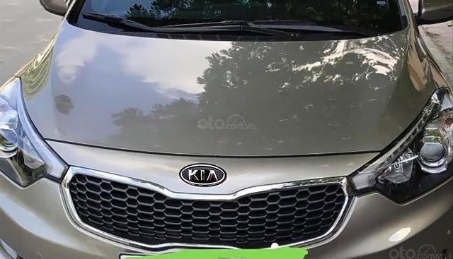 Cần bán xe Kia K3 2014, màu vàng, giá 415tr