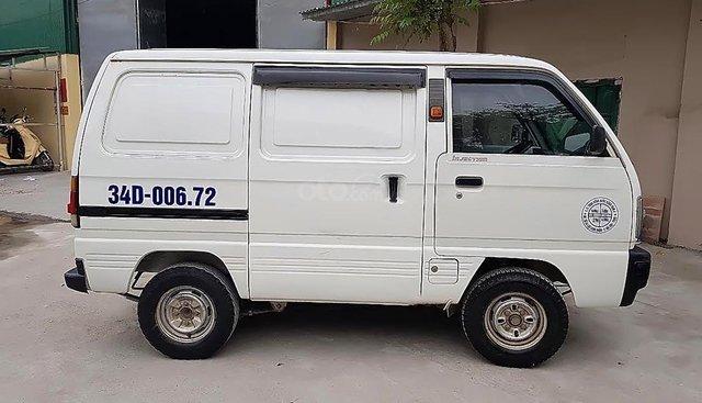 Bán xe Suzuki Super Carry Van đời 2009, màu trắng, xe gia đình