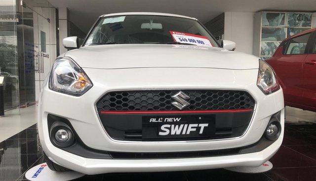 Bán Suzuki Swift năm 2018, màu trắng, nhập khẩu nguyên chiếc