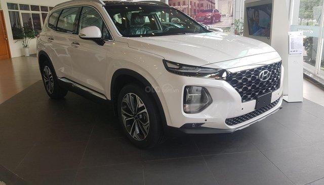 Bán Hyundai Santafe 2019 - Vay 80% - 313tr có xe ngay