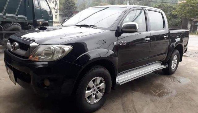 Bán xe Toyota Hilux 2009, màu đen, nhập khẩu, số sàn