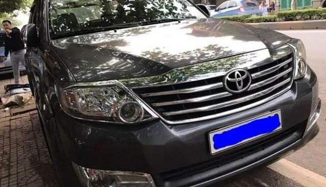 Cần bán Toyota Fortuner đời 2012, màu xám