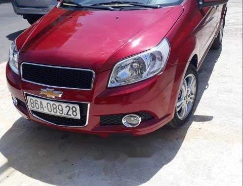 Bán Chevrolet Aveo LTZ năm sản xuất 2018, màu đỏ, nhập khẩu, giá 430tr