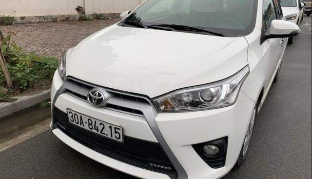 Bán Toyota Yaris G đời 2015, màu trắng, xe nhập, chính chủ