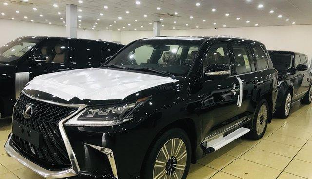 Bán Lexus LX570 super Sport 2019, màu đen, nội thất 2 màu, nhập nguyên chiếc, full option, xe giao ngay