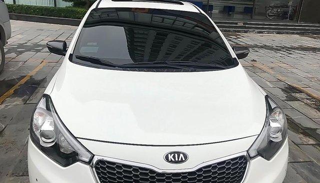 Bán ô tô Kia K3 1.6AT năm 2015, màu trắng, 1 chủ từ đầu