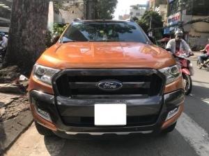 Cần bán xe Ford Ranger Wildtrak 3.2L 2016, màu cam, nhập khẩu, giá 790tr