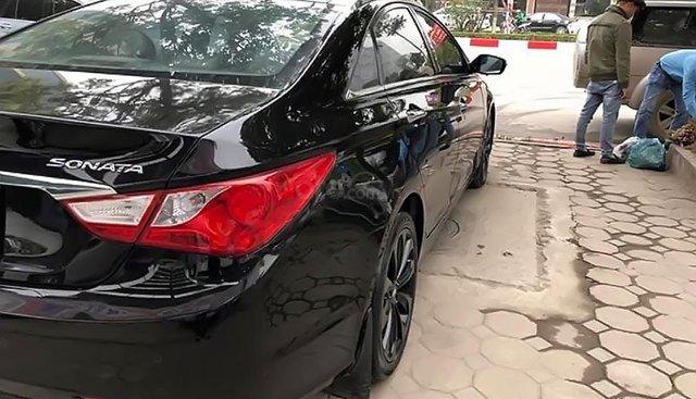 Bán xe Hyundai Sonata đời 2011, màu đen, xe nhập