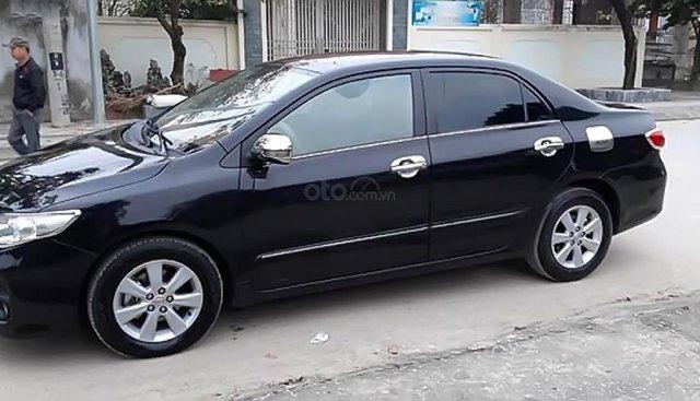 Bán Toyota Corolla altis sản xuất 2010, màu đen
