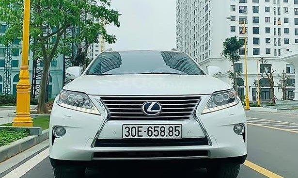 Bán RX 450H Sx 2012, Đk lần đầu 2015, số tự động, máy xăng, màu trắng, nội thất màu đen, chạy 2 vạn km