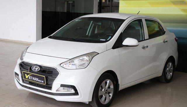 Bán xe Hyundai Grand i10 1.2AT năm sản xuất 2018, màu trắng