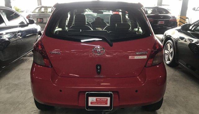 Yaris nhập Nhật 2008 màu đỏ, LH 0907969685 gặp Mỹ Mỵ, xe gia đình xài kĩ
