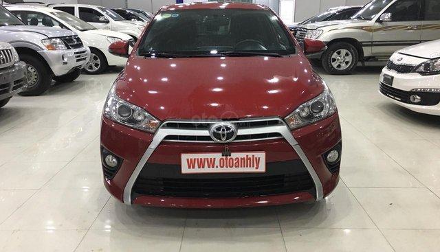 Salon ô tô Ánh Lý bán xe Toyota Yaris đời 2014, màu đỏ, giá tốt