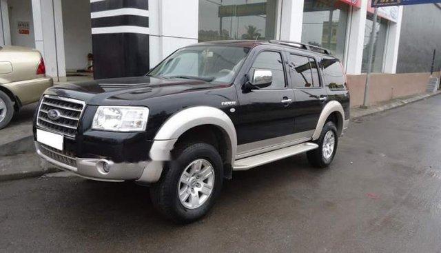 Cần bán Ford Everest 2008, màu đen số sàn