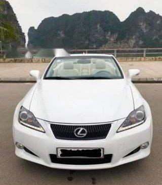 Bán xe Lexus IS 250C 2011, màu trắng, nhập khẩu nguyên chiếc