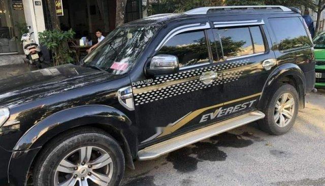 Cần bán lại xe Ford Everest sản xuất 2011, màu đen số sàn, giá 488tr