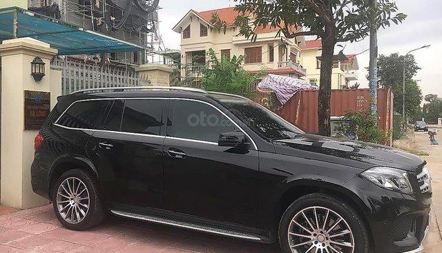 Bán xe Mercedes GLS 400 4Matic đời 2016, màu đen, xe nhập số tự động
