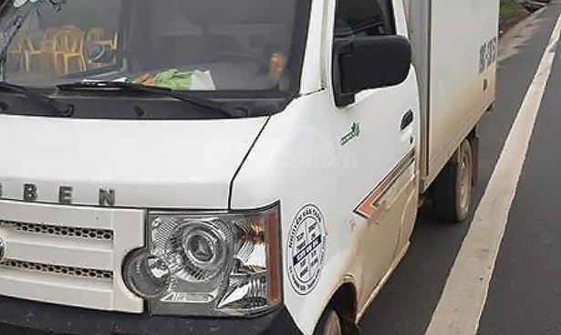 Bán lại xe Dongben DB1021 2018, màu trắng, máy êm ru