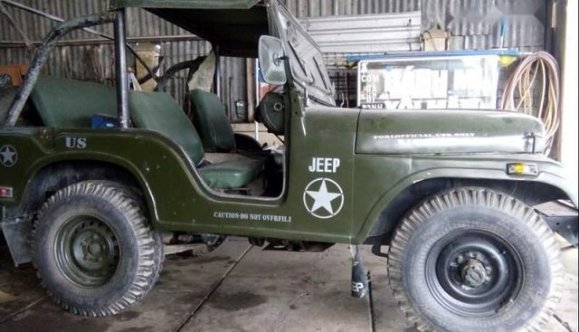 Cần bán gấp Jeep CJ trước sản xuất năm 1980, xe nhập số sàn, giá chỉ 62 triệu